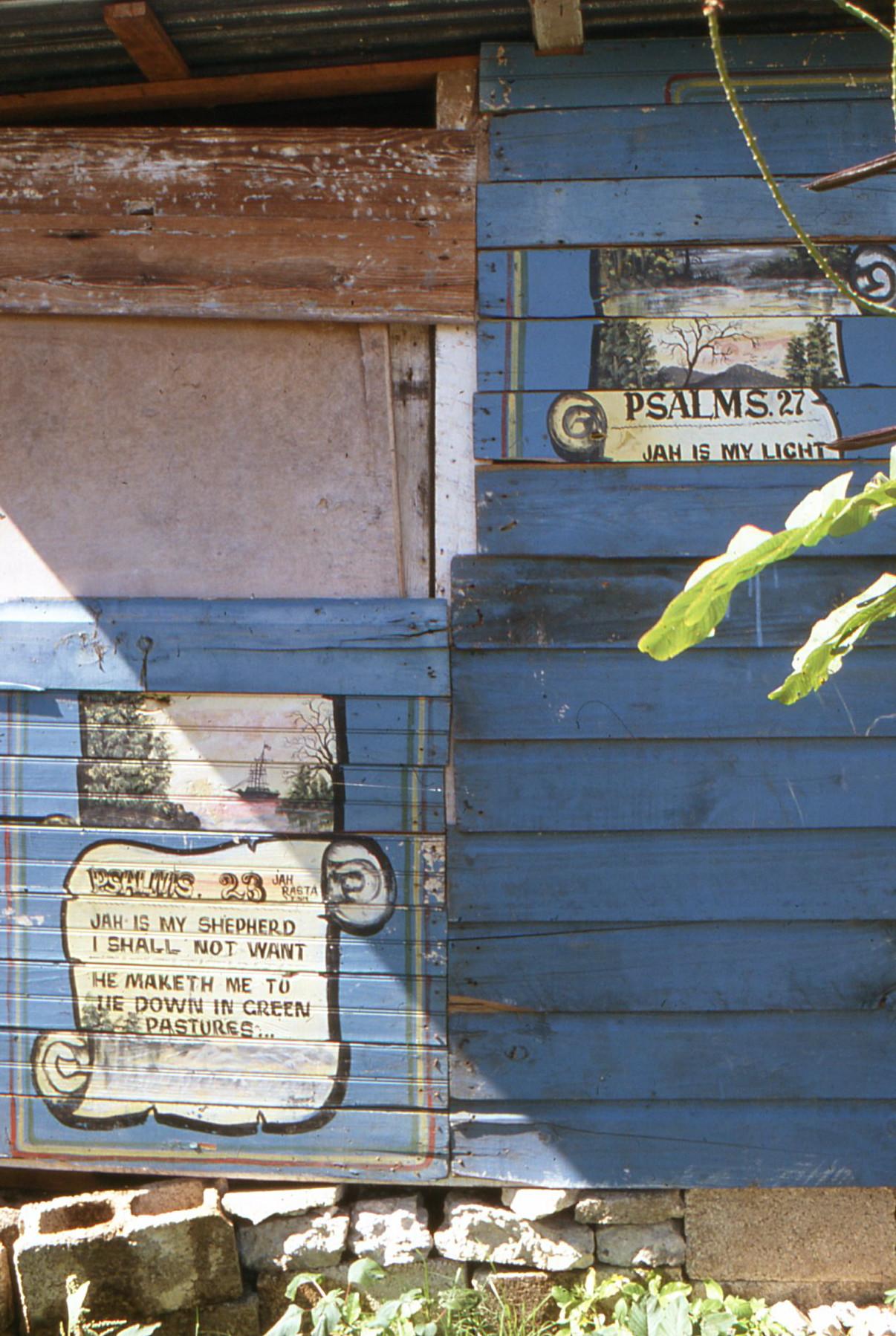 The Psalmist speaks, on Port Antonio's Titchfield Peninsula, set along Jamaica's East Coast.