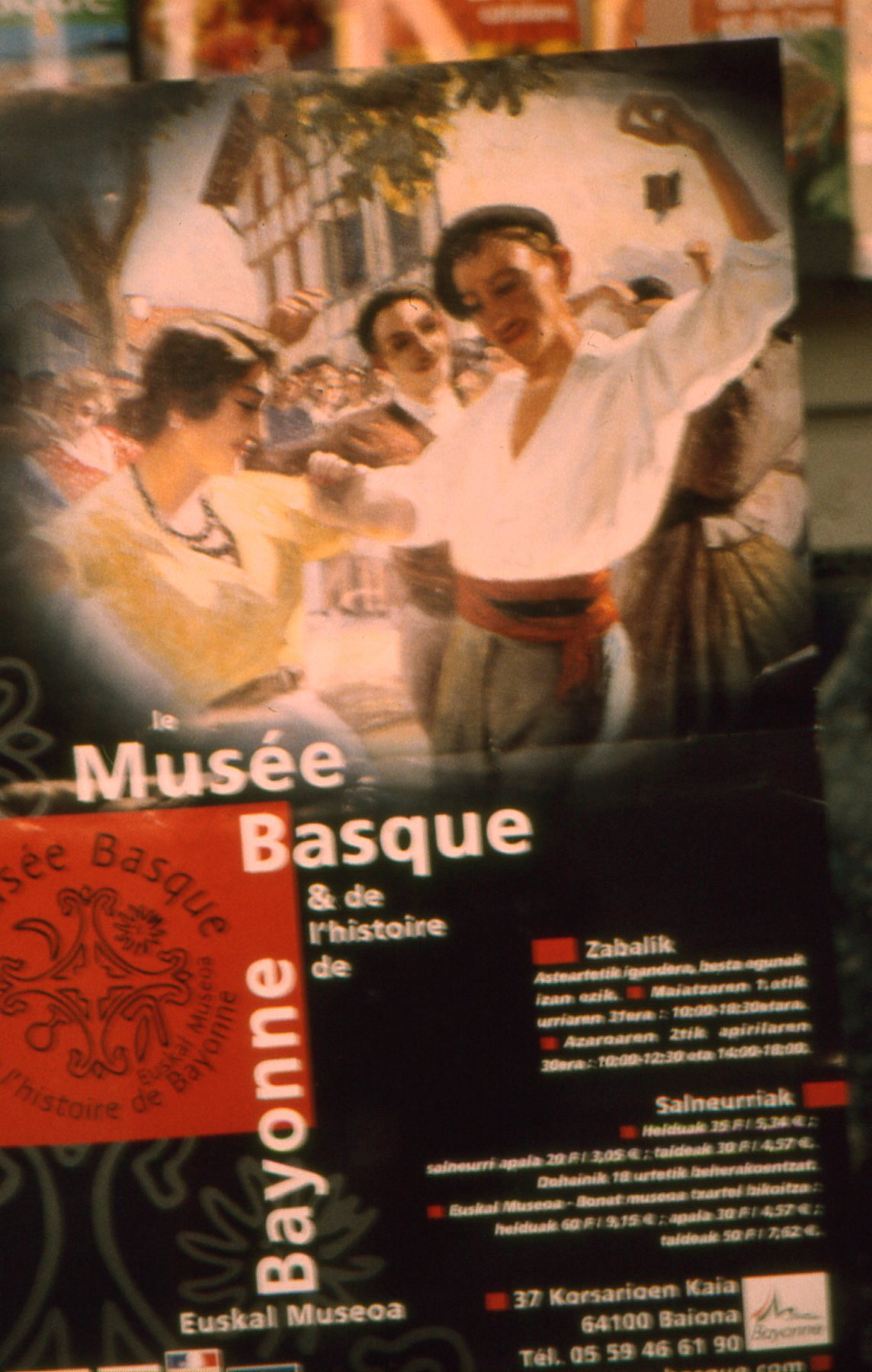 The Basques are the most ancient people in Europe; their language still unrelated to all others.