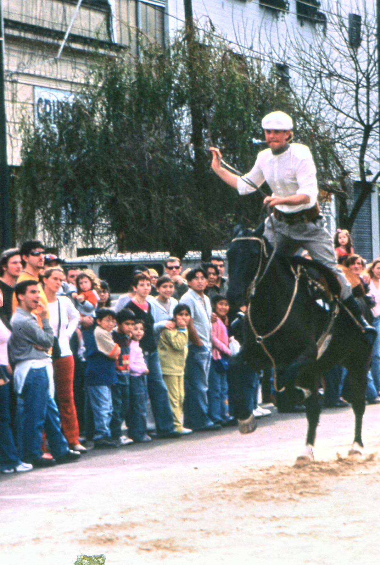 Gauchos demonstrate skills they use every day on the great estancias.