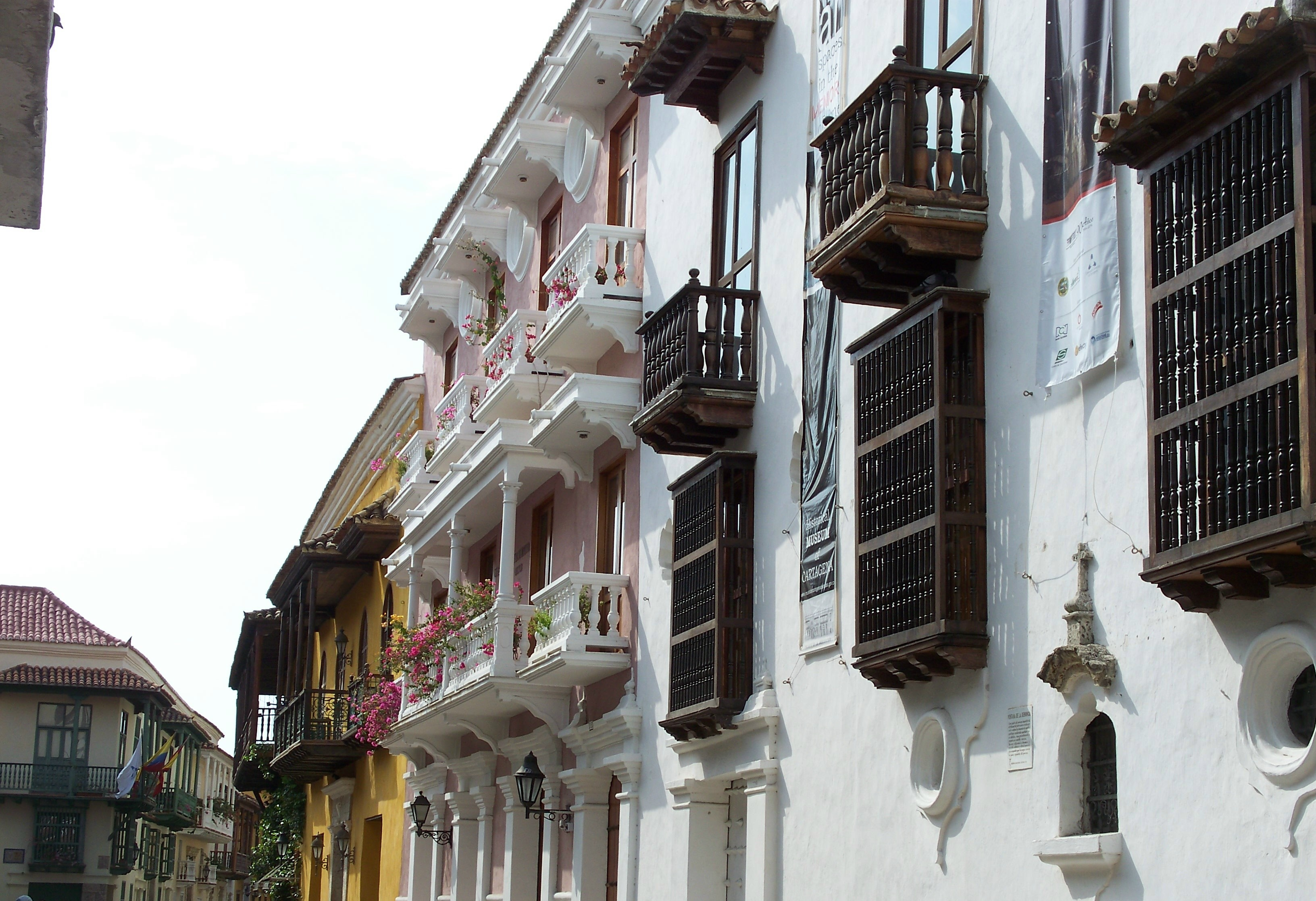 The balconies of Cartagena are a particular delight—a neverending series of variations on a theme.