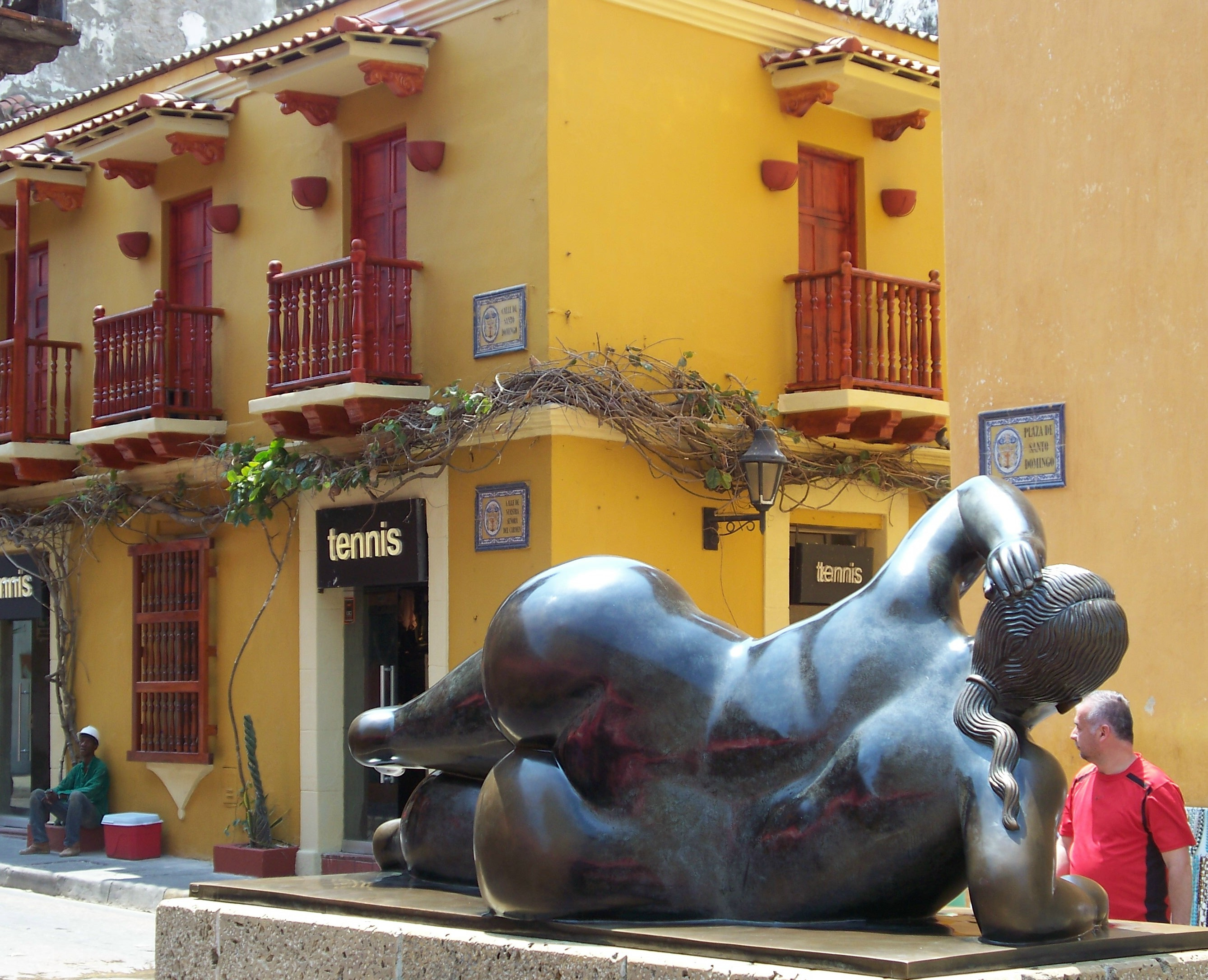 Botero's work is celebrated throughout the city, with sculptures popping up in various spots.