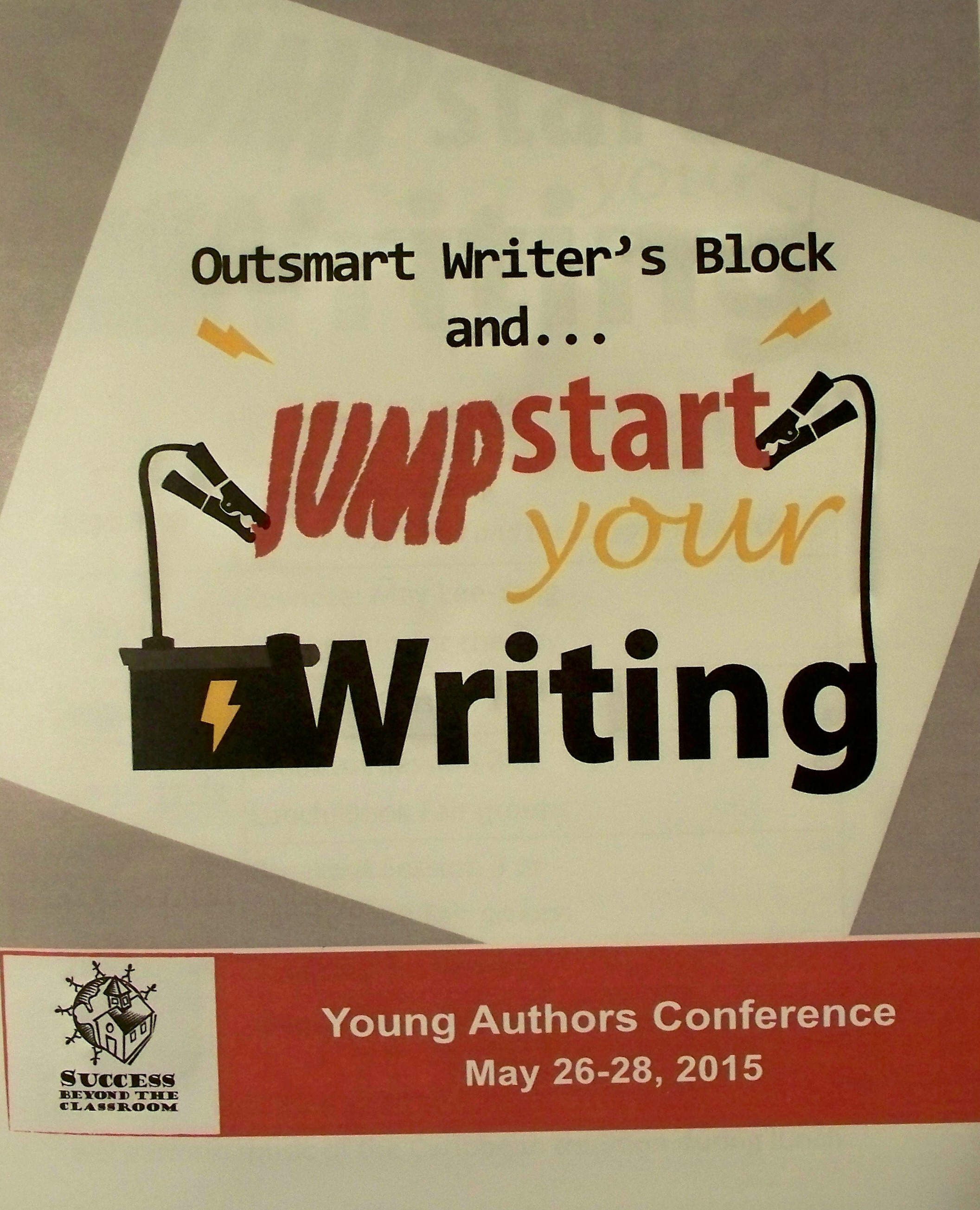 Once again, the Young Authors Conference kicks it into high gear.