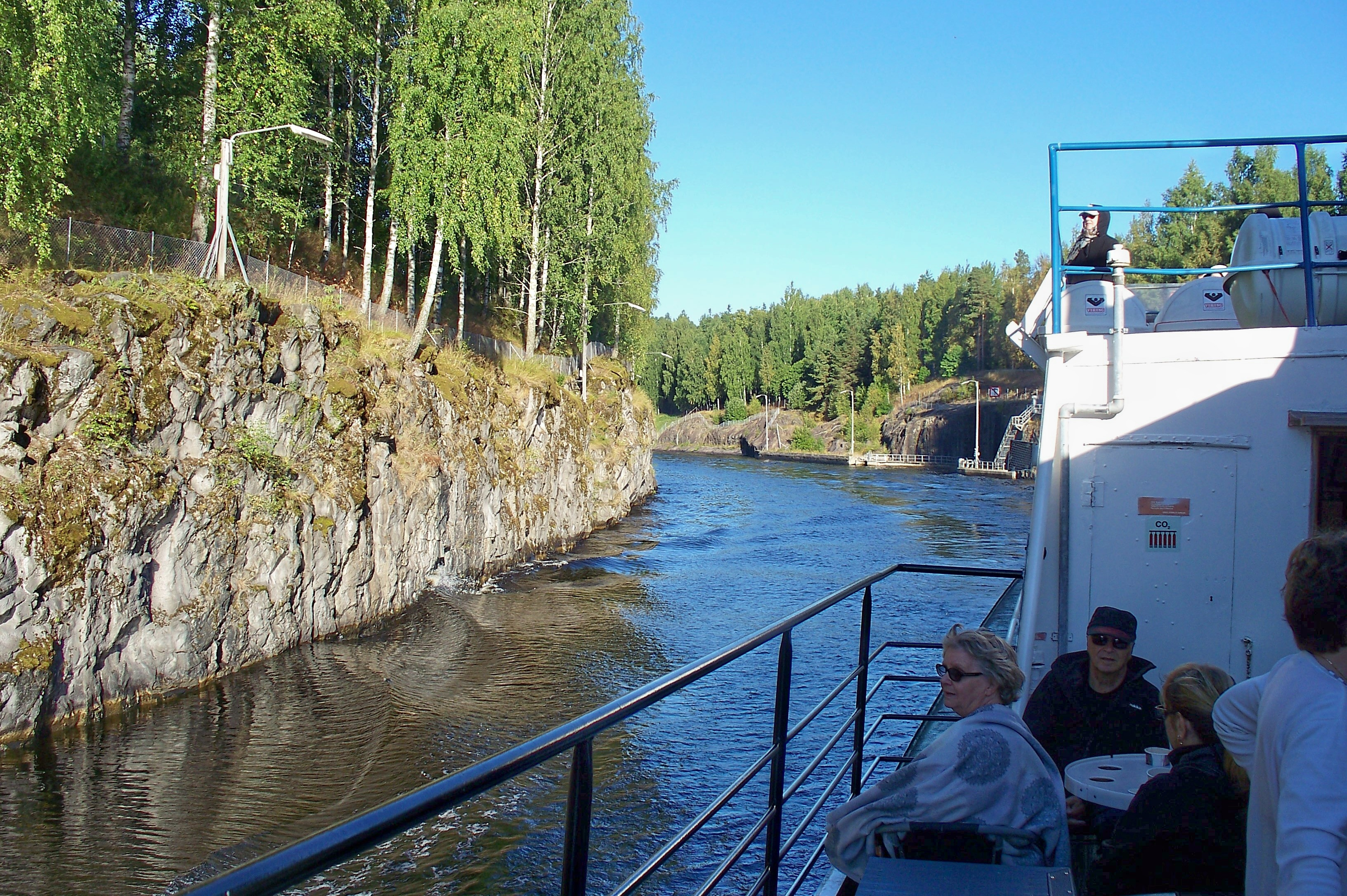 Gliding along the Saimaa Canal