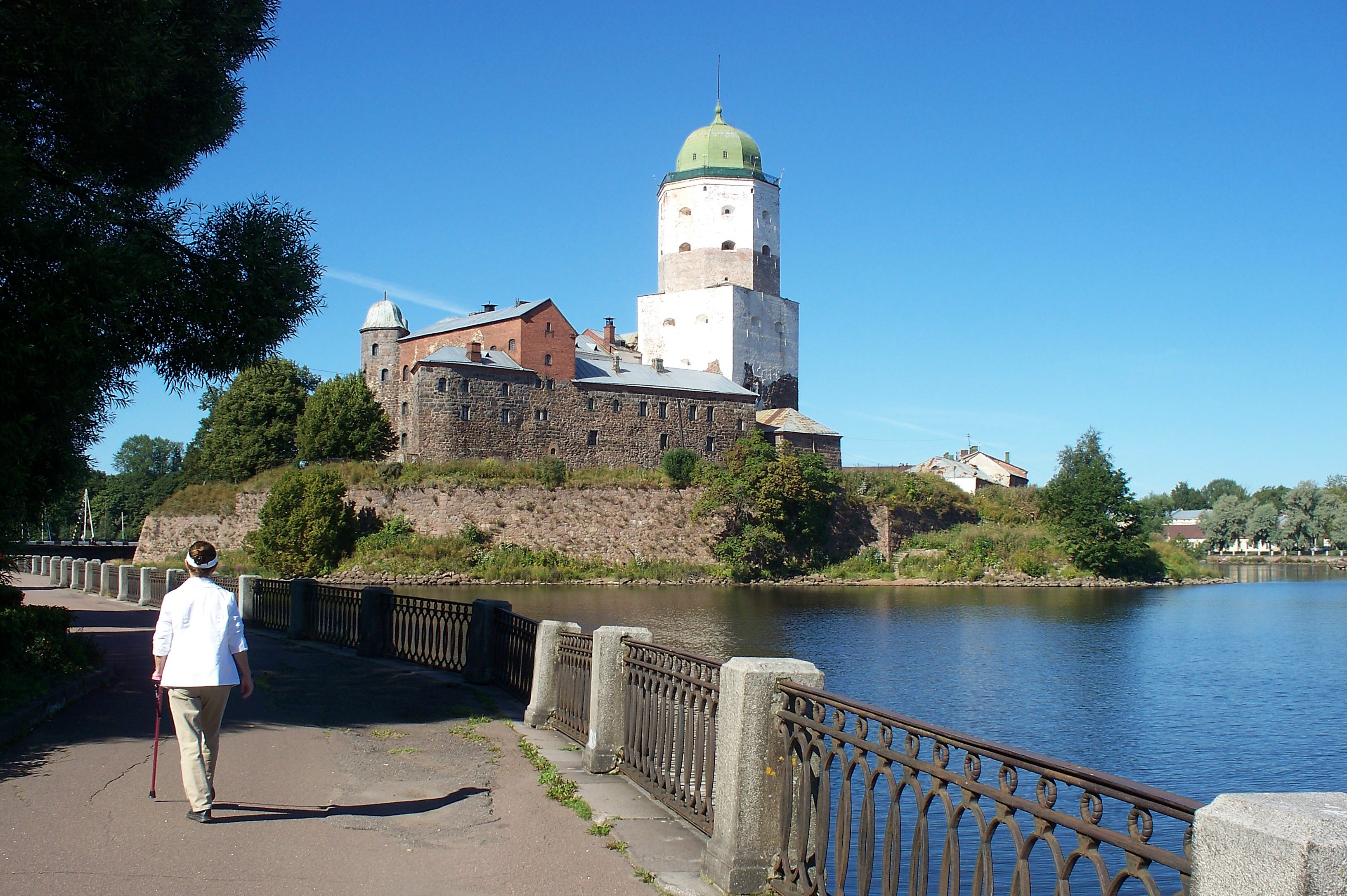 Since 1293, Vyborg Castle has protected its city from Baltic raiders.