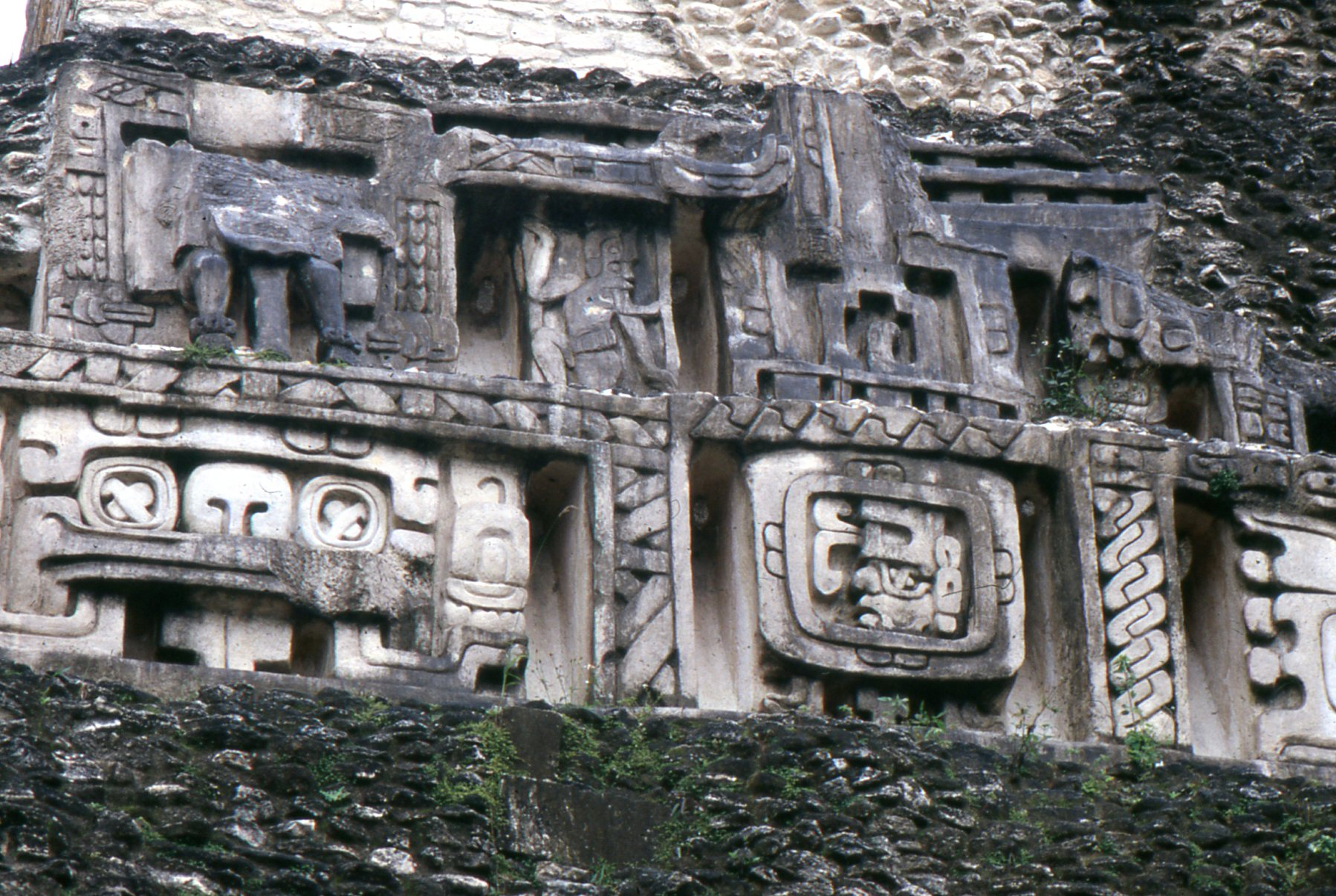 The Mayan-built stone temple of El Castillo at Xunantunich has lasted nearly 2,000 years. Its heiroglyphs are still only partially translated.
