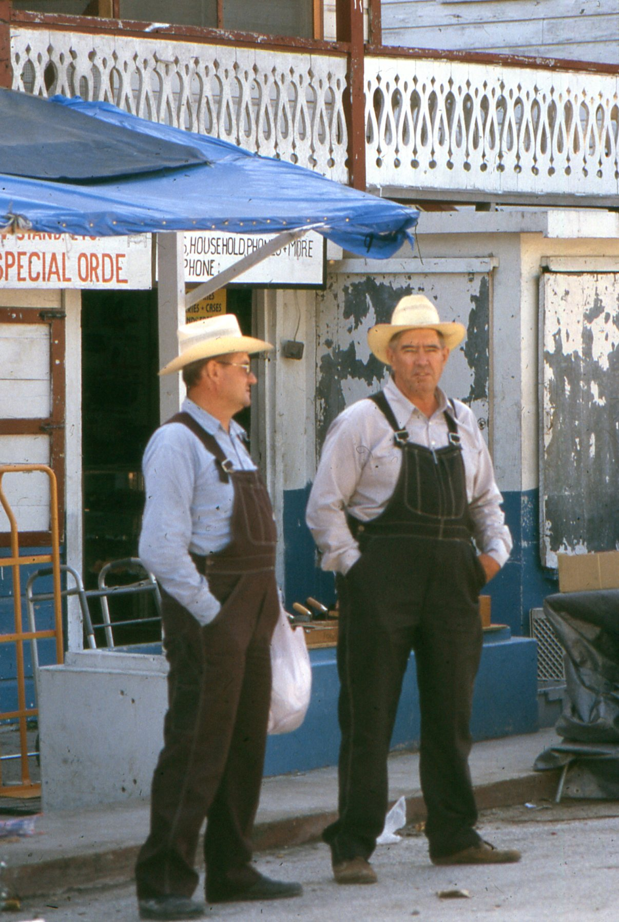 Mennonite farmers are a frequent sight in the markets of Orange Walk.
