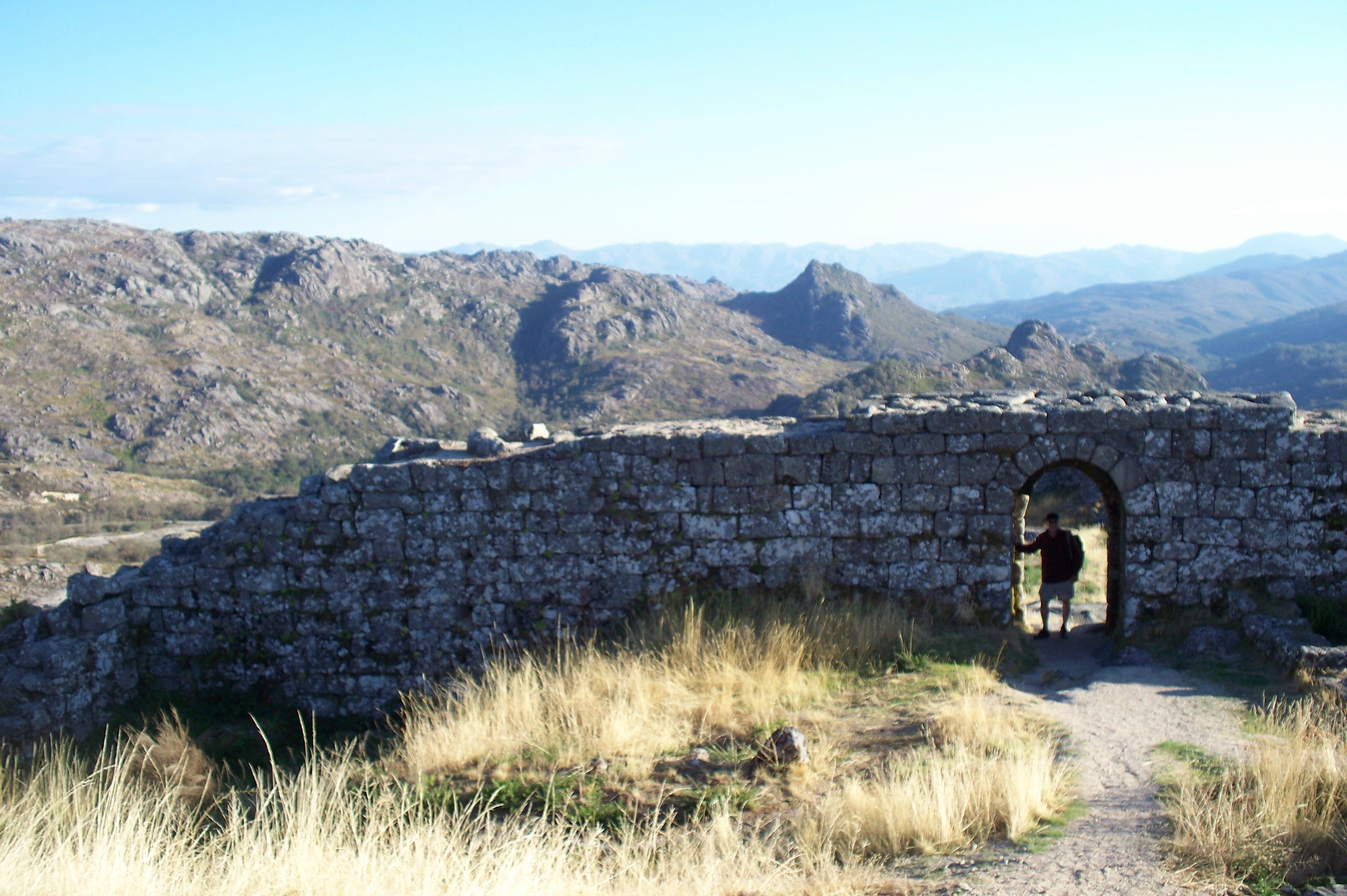 Though still on the frontier with Spain, the castle ruins above Castro Laboreiro no longer serve as border fortress.