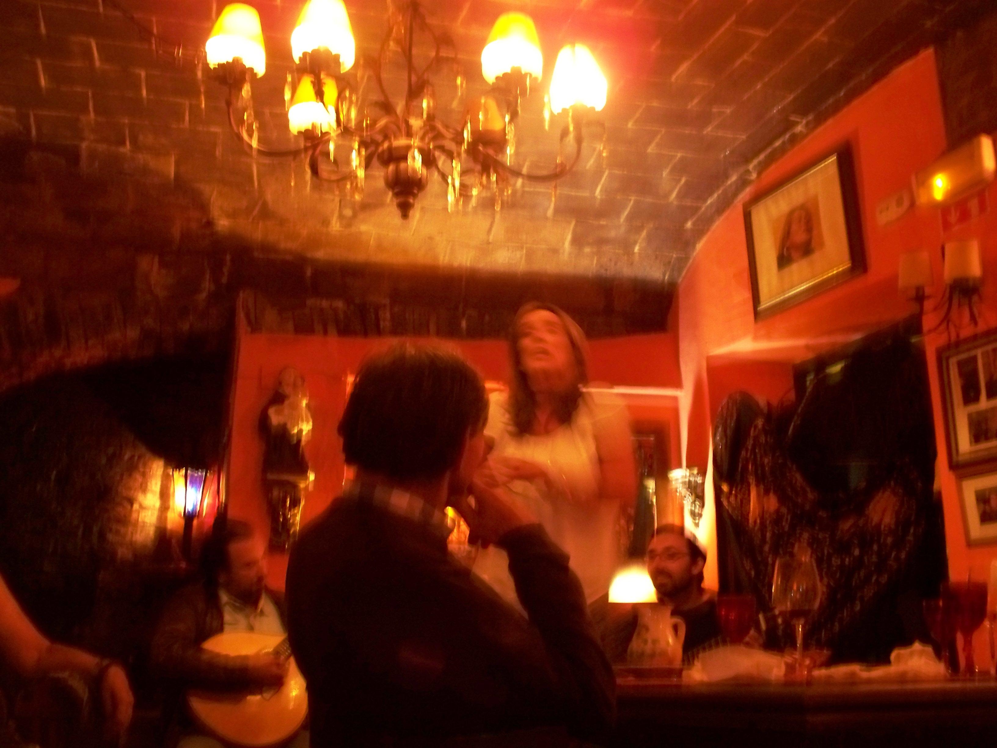 In the city of Evora, Bota Alta is the prime casa de fados, and Ines Villa-Lobos the featured singer.