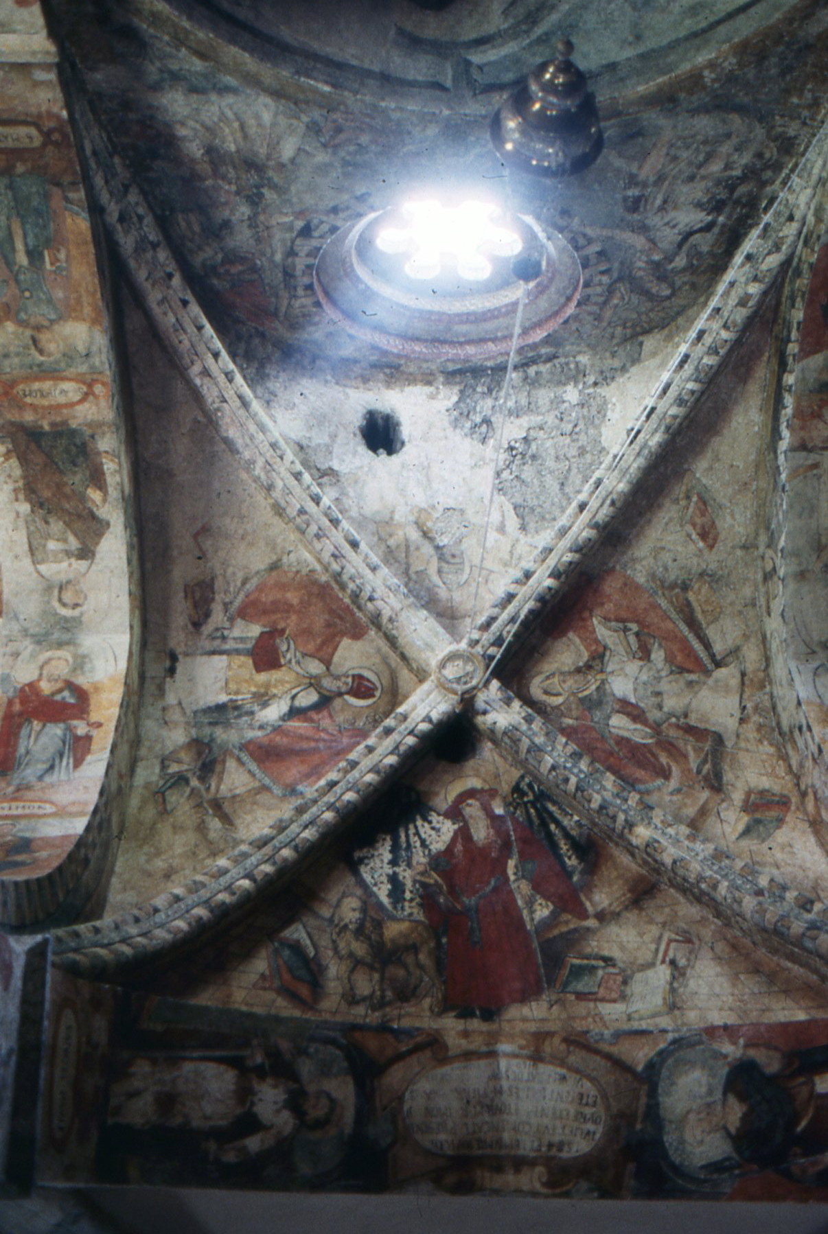 High in the mountains above Spain's remote Aran Valley sits this 16th century shrine with its stunning frescoed ceiling.